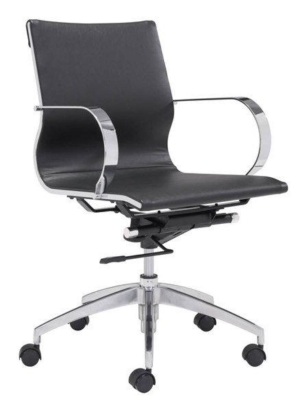 Zuo Furniture Glider Low Back Office Chairs ZUO-10037-OCH-VAR1