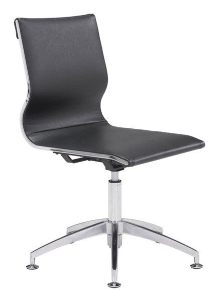 Zuo Furniture Glider Black Conference Chair ZUO-100377
