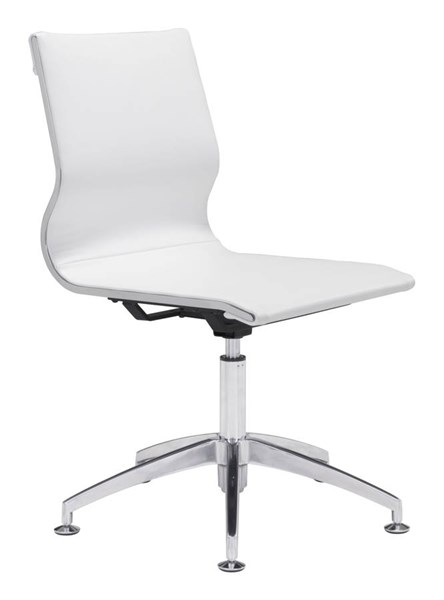 Zuo Furniture Glider White Conference Chair ZUO-100378