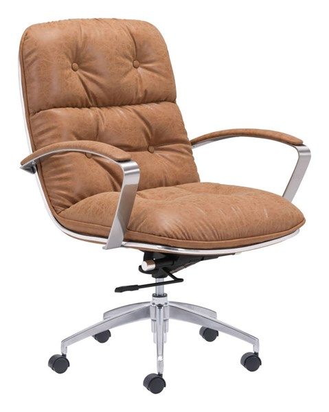 Zuo Furniture Avenue Era Vintage Coffee Office Chair ZUO-100446