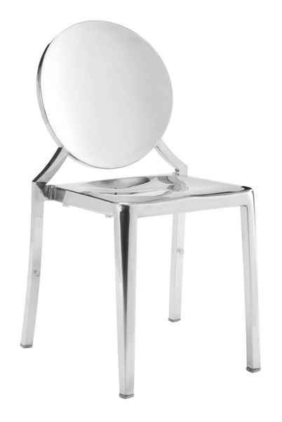 Zuo Furniture Eclispe Stainless Steel Dining Chairs ZUO-ECLISPE-CH-VAR