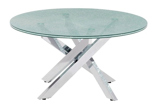 Zuo Furniture Stance Crackled Coffee Table ZUO-102140