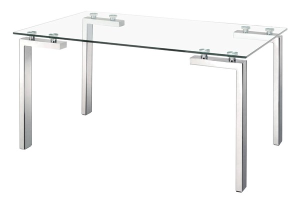 Zuo Furniture Roca Stainless Steel Dining Table ZUO-102142