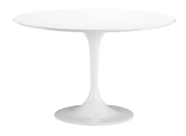Zuo Furniture Wilco White Round Dining Table ZUO-102173