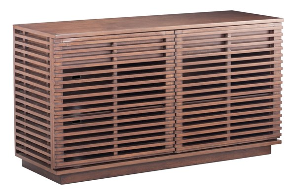 Zuo Furniture Linea Walnut Credenza ZUO-199051