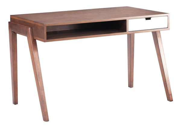 Zuo Furniture Linea Walnut Storage Desk ZUO-199054