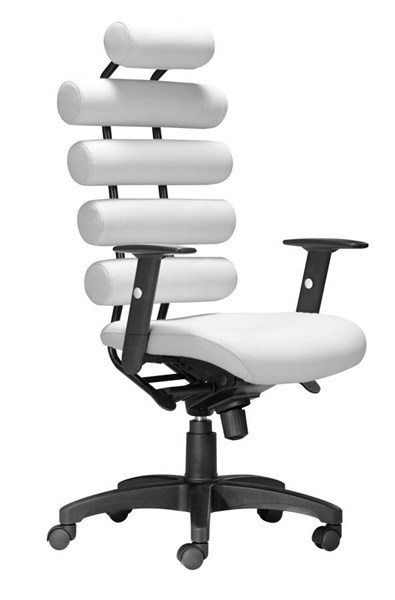 Zuo Furniture Unico White Office Chair ZUO-205051