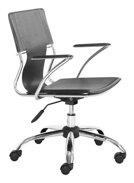 Zuo Furniture Trafico Black Office Chair ZUO-205181