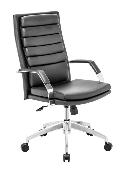 Zuo Furniture Director Comfort Black Office Chair ZUO-205326