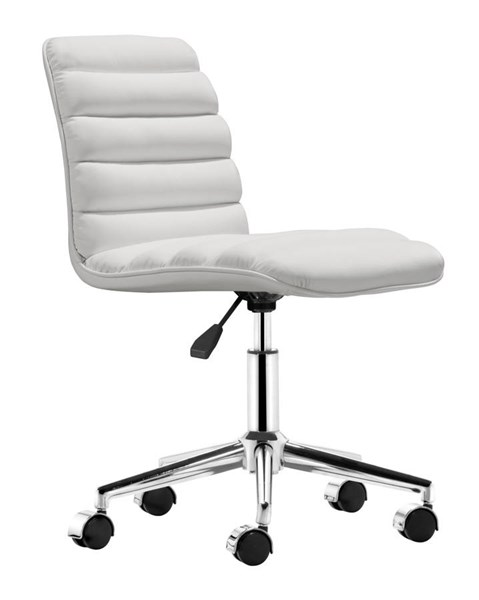 Zuo Furniture Admire White Office Chair ZUO-205711