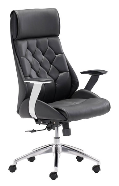 Zuo Furniture Boutique Black Office Chair ZUO-205890