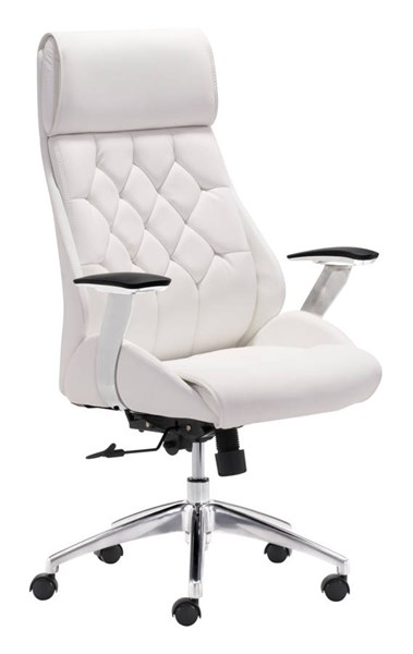Zuo Furniture Boutique White Office Chair ZUO-205891
