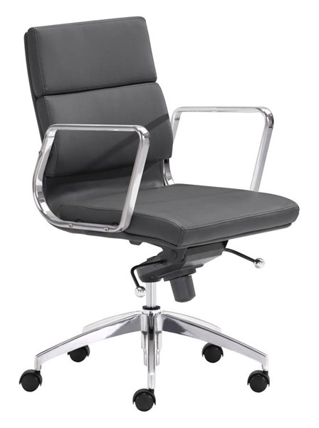 Zuo Furniture Engineer Low Back Office Chairs ZUO-ENGINEER-LB-OFF-CH-VAR
