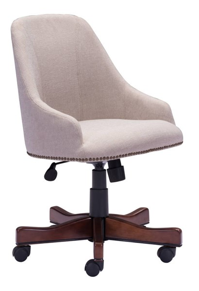 Zuo Furniture Maximus Era Beige Office Chair ZUO-206083