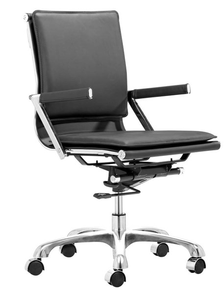 Zuo Furniture Lider Plus Black Office Chair ZUO-215212
