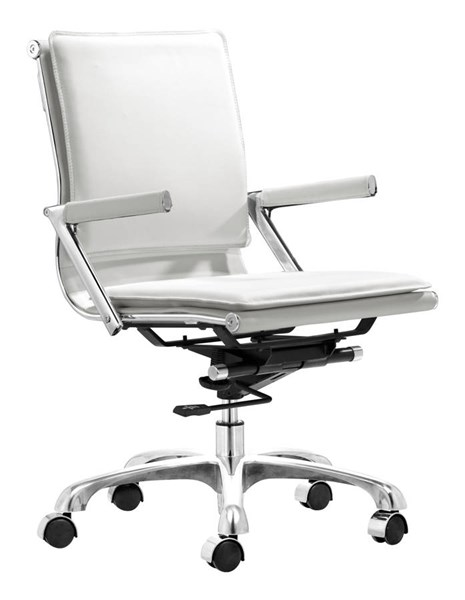 Zuo Furniture Lider Plus White Office Chair ZUO-215214