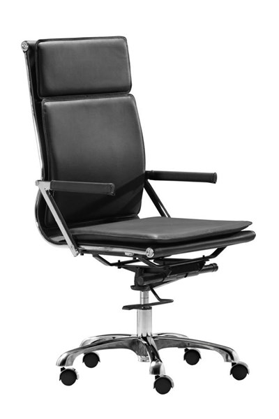 Zuo Furniture Lider Plus High Back Office Chairs ZUO-21523-OCH-VAR