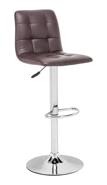 Zuo Furniture Oxygen Espresso Bar Chair ZUO-301352