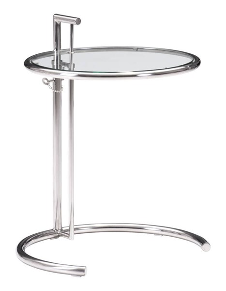 Zuo Furniture Eileen Gold Chrome Side Table ZUO-401138