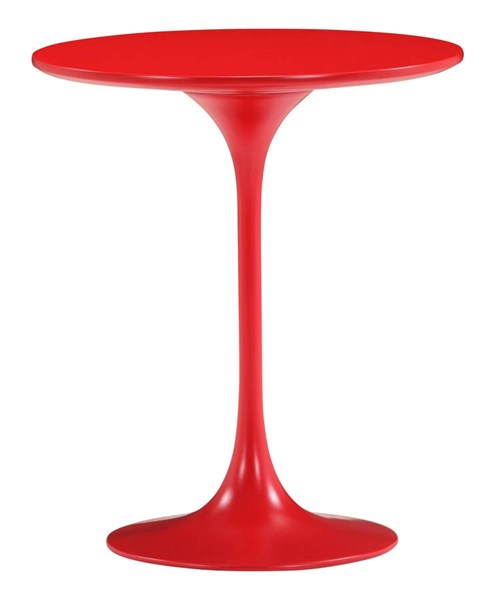 Zuo Furniture Wilco Red Side Table ZUO-401143