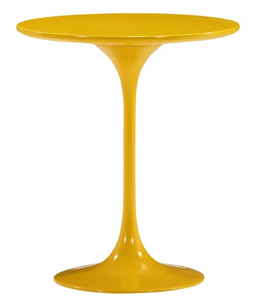 Zuo Furniture Wilco Yellow Side Table ZUO-401144