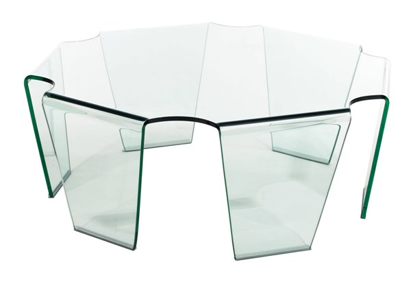 Zuo Furniture Circuit Clear Coffee Table ZUO-404083