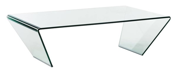 Zuo Furniture Migration Clear Coffee Table ZUO-404087