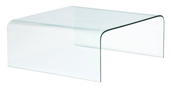 Zuo Furniture Sojourn Clear Coffee Table ZUO-404119
