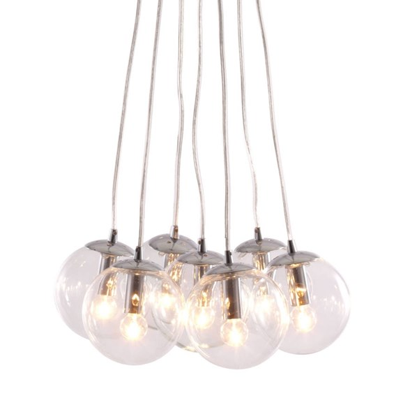 Zuo Furniture Decadence Pure Clear Ceiling Lamp ZUO-50081