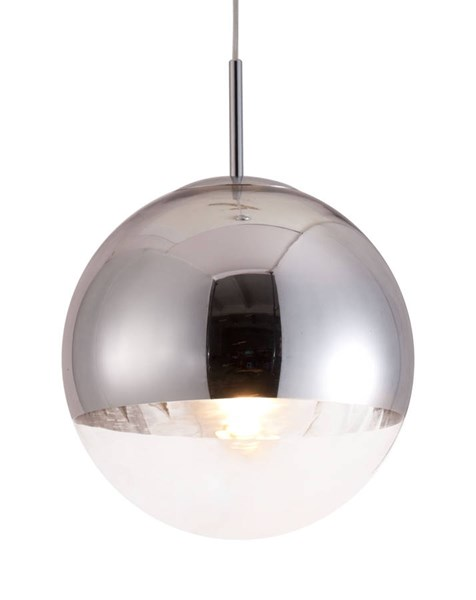 Zuo Furniture Kinetic Pure Chrome Ceiling Lamp ZUO-50104