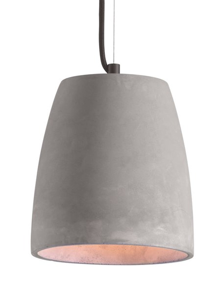 Zuo Furniture Fortune Pure Gray Ceiling Lamp ZUO-50205