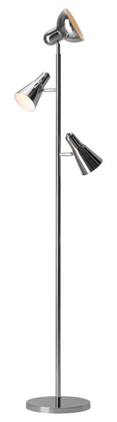 Zuo Furniture Shuttle Pure Chrome Floor Lamp ZUO-56007