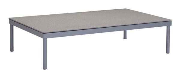 Zuo Furniture Sand Beach Vive Gray Coffee Table ZUO-703578