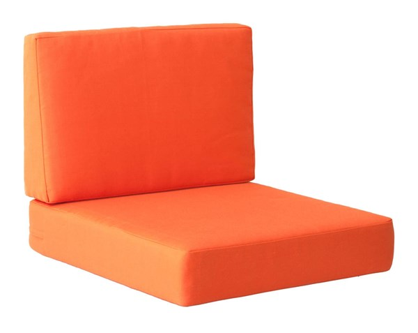 Zuo Furniture Cosmopolitan Vive Orange Arm Chair Cushion ZUO-703650