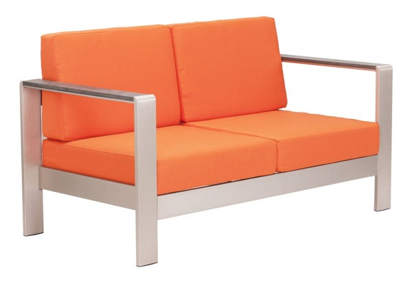 Zuo Furniture Cosmopolitan Vive Sofas with Cushions ZUO-7018-SF-VAR