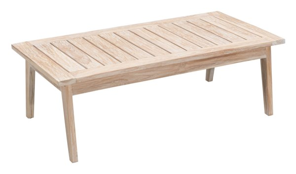 Zuo Furniture West Port Vive White Coffee Table ZUO-703745