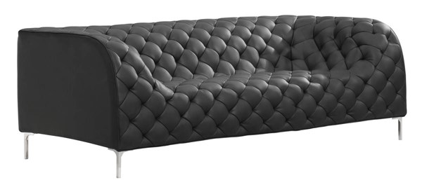 Zuo Furniture Providence Black Sofa ZUO-900274