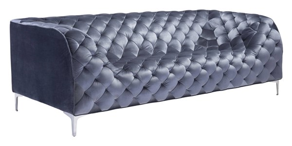 Zuo Furniture Providence Gray Sofa ZUO-900280