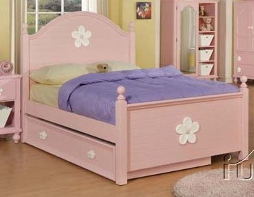 Acme Furniture Floresville Pink Beds ACM-00735T-BEDS