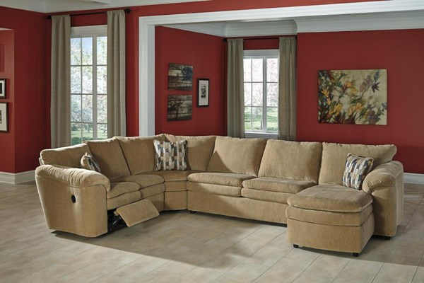 Coats Contemporary Dune 4pc Sectional w/RAF Corner Chaise 44100-SEC15