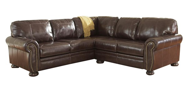 Banner Traditional Classics Coffee LAF Sofa 5040466