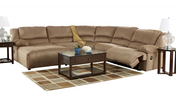 Hogan - Mocha Sectional (Left side Chaise) 57802SE2