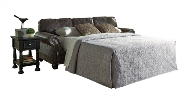 Breville Traditional Classics Charcoal Queen Sofa Sleeper 8000439