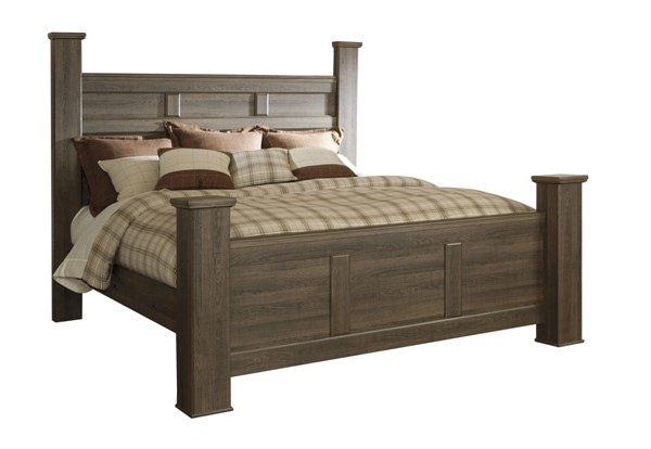 Ashley Furniture Juararo King Poster Bed The Classy Home
