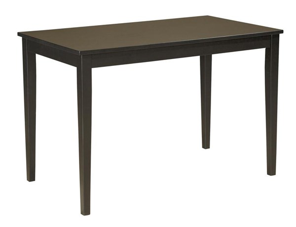 Ashley Furniture Kimonte Dark Brown Rectangular Dining Room Table D250-25