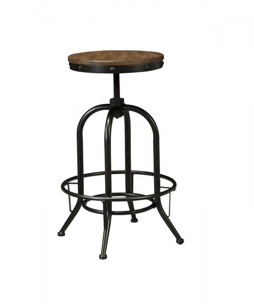 2 Ashley Furniture Pinnadel Tall Swivel Stools D542-230