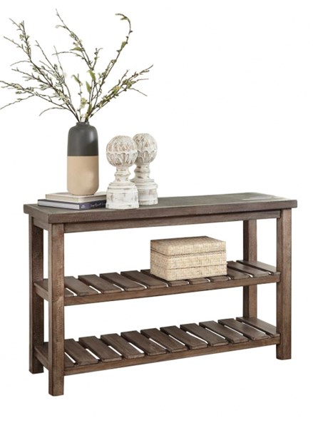 Vennilux Vintage Casual Grayish Brown Sofa Table T500-104
