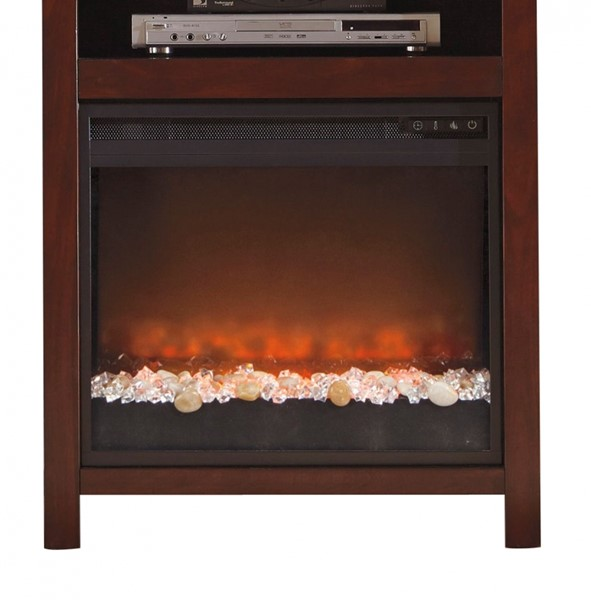 Ashley Furniture Entertainment Accessories Fireplace Insert Glass/Stone W100-02
