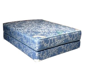 Comfort Bedding Chiro Premier Tight Top Firm Double Sided King Mattress and Box M202-08