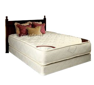 Comfort Bedding Highlight Tight Top Firm Double Sided Queen Mattress and Box M680-06